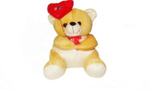 Vpra Mart yellow Balloon Cute Teddy Bear  - 26 cm