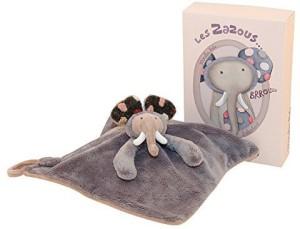 Moulin Roty Les Zazous Zazous Elephant Lovey  - 20 inch