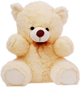 Cuddles Collections Lovely looking cute Beige teady Bear  - 40 cm