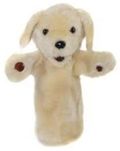 The Puppet Company Yellow Labrador Long Sleeved Glove Puppet