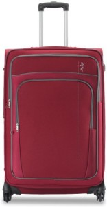 Skybags GRAND 4W EXP STROLLY 55 RED Expandable  Cabin Luggage - 21 inch