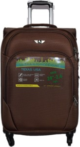 Texas USA 1208 Expandable  Check-in Luggage - 24 inch