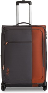 Skybags cube Expandable  Cabin Luggage - 21 inch