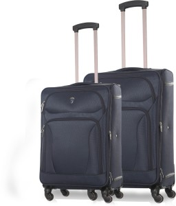 Novex Atlanta - Pack of 2 (24 inches and 20 inches) Expandable  Check-in Luggage - 24 inch
