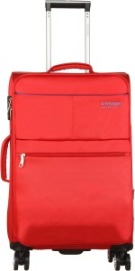 Giordano Oxford812-RD20 Expandable  Cabin Luggage - 20 inch