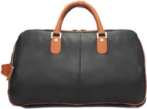 Brune BLACK-TAN CHECK-IN LUGGAGE BAG Cabin Luggage - 12 inch
