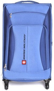 Swiss Military Nylon Large Size 28Inch Travel Luggage Expandable  Check-in Luggage - 28 inch