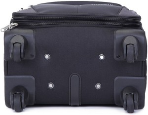 72221c6ee6b American Tourister Crete Spinner 55 Cm Expandable Cabin Luggage - 21 inch Black