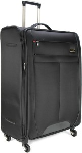 Samsonite SYNCONN SPINNER 76CM EXP-BLACK Expandable  Check-in Luggage - 30.4 inch