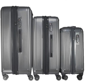2f2e9926d2ff TRAWORLD 4 wheel Polycarbonate Expandable Check in Luggage 28 inch ...