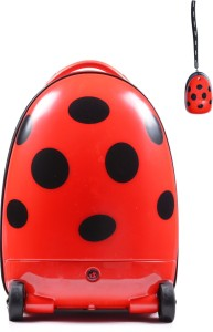 The Untold Stores Lady Bug Walking Suitcase Cabin Luggage - 16 inch