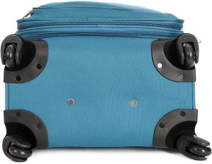American Tourister Mocha Spinner 55Cm - Ns Blue Expandable  Cabin Luggage - 21 inch