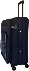 Timus MOROCCO SPINNER 65 CM 4 WHEEL STROLLEY SUITCASE Expandable  Check-in Luggage - 24 inch