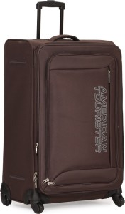 0adfb68898 American Tourister Mocha Tobacco Spinner 73cm Expandable Check-in Luggage -  Large