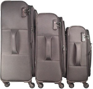 TRAWORLD 4 wheels Set of 3 Expandable  Check-in Luggage - 28 inch