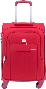 Delsey Belleville 51 4W Cab Tr Case Red Cabin Luggage - 25.00 inch