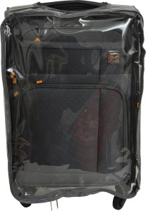 Sprint Transparent PVC Protective Cover Expandable  Check-in Luggage - 24 inch