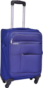 American Tourister At Speed Spinner76Cm Royal Blu Expandable  Check-in Luggage - 29 inch