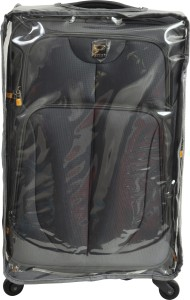 Sprint Transparent PVC Protective Cover Expandable  Cabin Luggage - 20 inch
