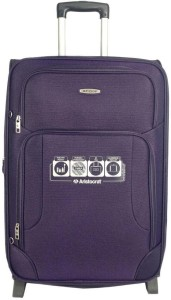 Aristocrat Turbo 2W EXP Strolly 54 Expandable  Check-in Luggage - 22 Inches