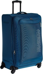 American Tourister Mocha Spinner 73 cm - Ns Blue Expandable  Check-in Luggage - Large