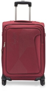 Skybags BLOOM 4W EXP STROLLY 78 WINE RED Expandable  Check-in Luggage - 30 inch