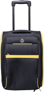 Giordano Expandable  Cabin Luggage - 18 inch