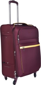 EUROLARK INTERNATIONAL Channel Expandable  Check-in Luggage - 25 inch