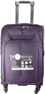 American House 24 inch 4 Wheel Trolley Bag Expandable  Check-in Luggage - 24 inch