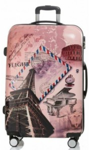 Fidato ABS-360 - Trolly (Paris Postman) Expandable  Cabin Luggage - 28 inch