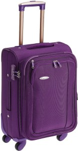 Princeware Leo Polyester 55 cm Softsided Carry-On Expandable  Cabin Luggage - 21.7 inch