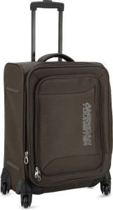 American Tourister Mocha Spinner 55Cm - Tobacco Expandable  Cabin Luggage - 21 inch