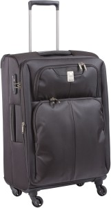 Delsey DELSEY EXPERT 65CM 4WHEEL EXPENDABLE MEDIUM LUGGAGE ANTHRACITE COLOR Expandable  Check-in Luggage - 26 inch