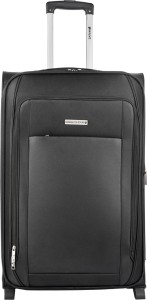 Safari VOYAGER-2W-55-BLK Expandable  Cabin Luggage - 55 inch