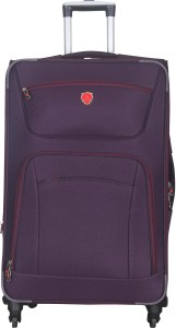 Emblem Sigma-M-Wine Expandable  Check-in Luggage - 24 inch