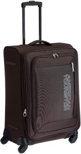 American Tourister Mocha Spinner 66Cm - Tobacco Expandable  Check-in Luggage - 25 inch