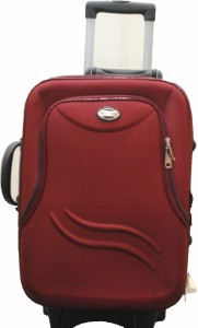 United Long Pocket RD Expandable  Cabin Luggage - 20 inch