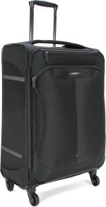 Samsonite SAM STINGRAY SP 66 EXP - BLACK Expandable  Check-in Luggage - 26.4 inch