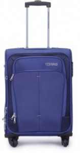 American Tourister Crete Spinner 55 Cm Expandable  Cabin Luggage - 21 inch