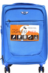 Texas USA 5002s Expandable  Check-in Luggage - 24 inch