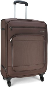 Samsonite SAM KINGSWAY SP 66CM EXP-BROWN Check-in Luggage - 26.4 inch