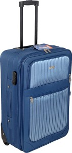 JOURNEY9 FLIP 65 BLUE Expandable  Check-in Luggage - 24 inch