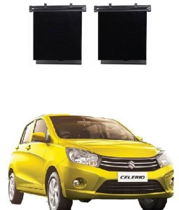 Ctn Side Window Sun Shade For Maruti Suzuki Celerio Black Best Price