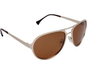 44826998df Iryz BS1318C3 Round Sunglasses Brown Best Price in India