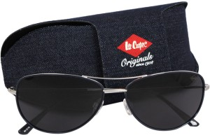Cooper Silver Lco9042foa Lee Aviator Sunglassesblue nwN0PkXO8