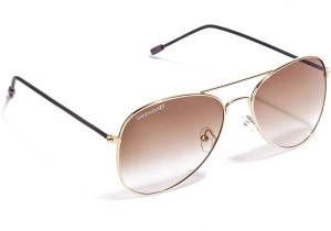 07926804e1 Danny Daze D 786 C11 Aviator Sunglasses Brown Best Price in India ...