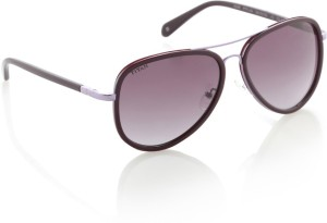 0f1f1daad354 Titan G230PTFLAA Aviator Sunglasses Violet Best Price in India ...