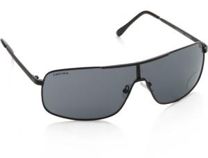 Fastrack M126BK1 Rectangular Sunglasses Grey Best Price in India ... 6f11b4e96b5b