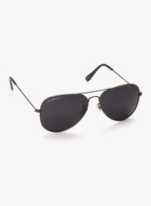 5b883e6fba Joe Black JB 755 C8P Aviator Sunglasses Grey Best Price in India ...