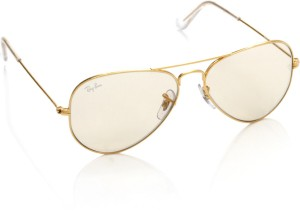 8030a5ed10 Ray Ban 0RB3025I W3240 Aviator Sunglasses Yellow Best Price in India ...